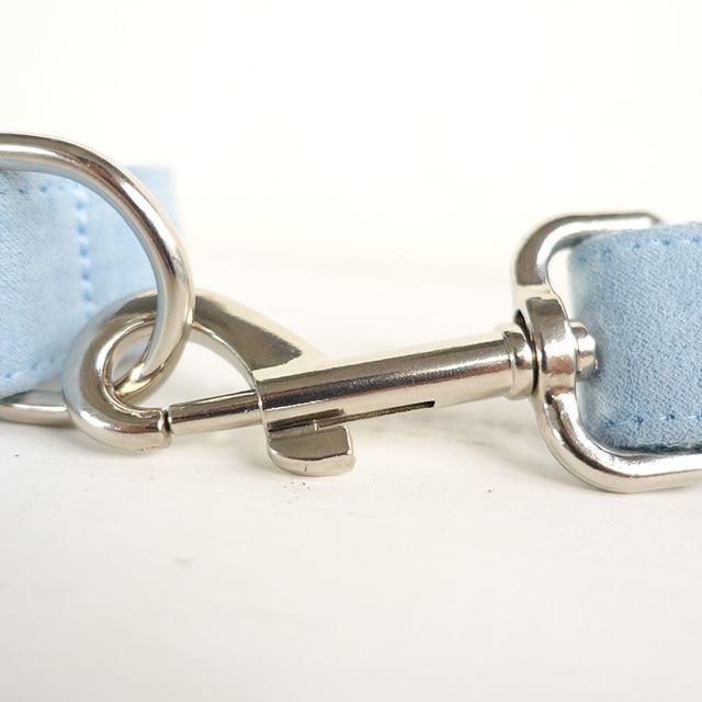 Halsband / Leine / Einzeln oder als Set / Nylon / Personalisierbar 3