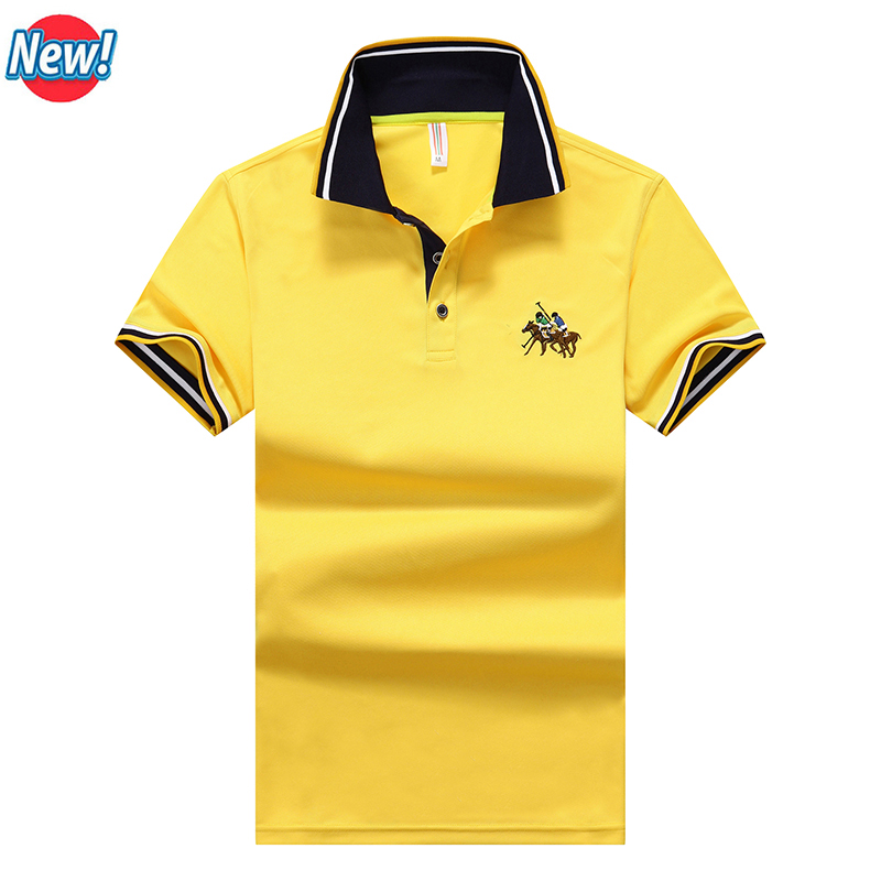 Seasunland brand clothing polo homme solid wholesale ralph for Polo brand polo shirts