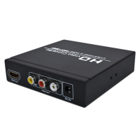 Full HD 1080P HDMI to HDMI Converter Adapter AV/CVBS to HDMI Audio Video Converter Box For HDTV PS 2/3 XBOX360
