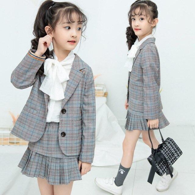 f96e5e819 Teenage girls clothing set kids tracksuit for girls fashion suit ...