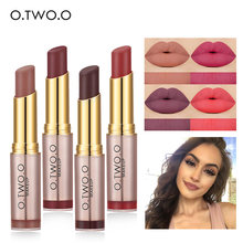 O.TWO.O 20Colors Moisturizer Lipstick Long Lasting Smooth Makeup Sexy Lip Stick Pigment Nude Make Up Brand Cosmetic Lipstick Set(China)