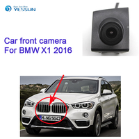 YESSUN CCD HD Car Front View camera for BMW X1 2016 car forward positve view hd camera waterproof wide angle night vision