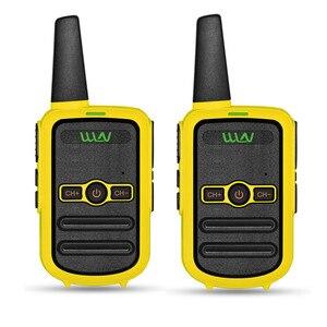Image 5 - 2 sztuk WLN KD C52 MINI ręczny nadajnik fm KD C52 dwukierunkowe Radio szynka HF cb radio Walkie Talkie frs gmrs lepsze niż KD C51