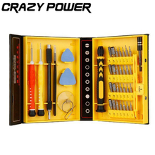 CRAZY POWER Multipurpose 38 in 1 Precision Screwdrivers Kit Opening Repair Phone Tools Set for iPhone iPad Samsung mehrzweck 38