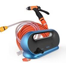 Электрический 65 Вт насос высокого давления для мойки автомобиля Портативная Машина для мойки автомобиля с водяным насосом 12 В