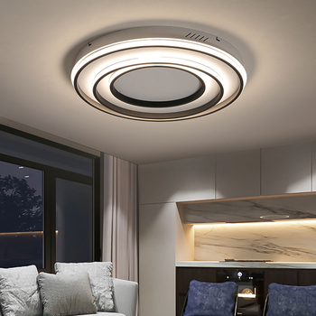 2019 bedroom led ceiling lights for 10-15 square meters restaurant indoor light luminarias para sala Remote control modern