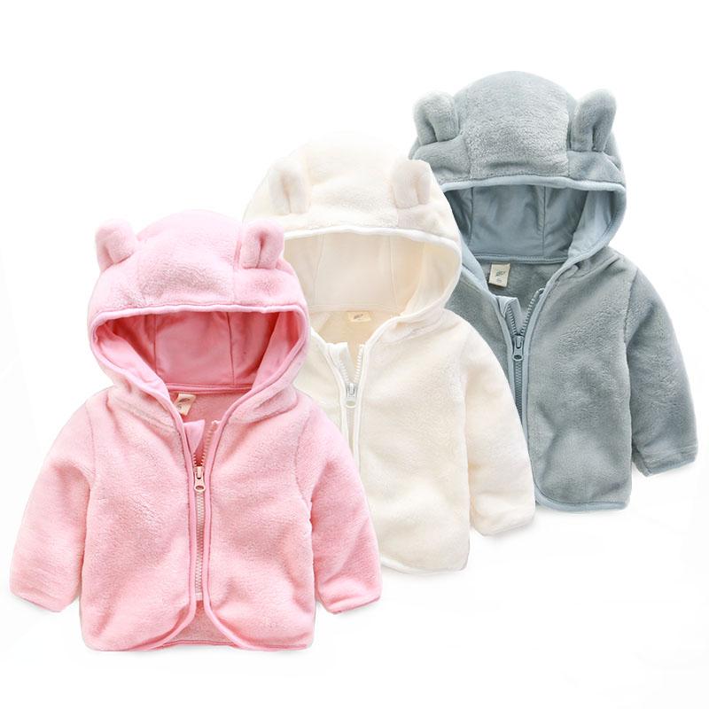 Молния весна и осень детские пальто предупредить милый мультфильм детская одежда 1 годик мальчику флисовая кофточка для новорожденных курт...