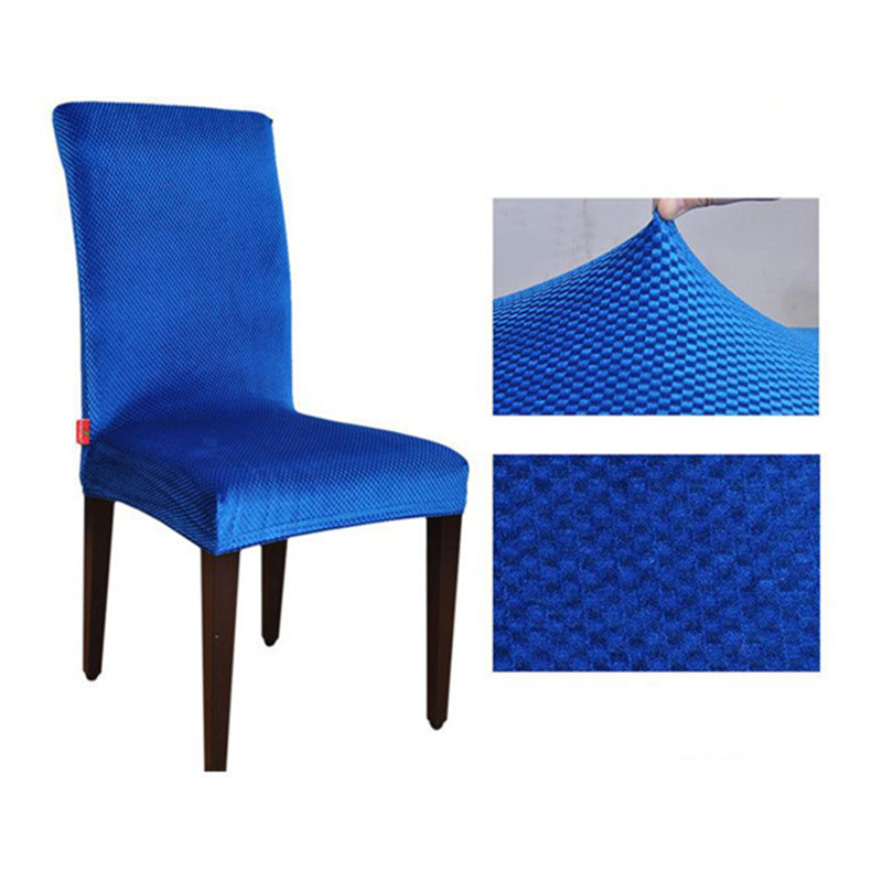 Royal Blue Chair Covers Pink Nail Salon Chairs Jacquard Spandex Stretch Dining Machine Washable Restaurant For Hotel Cover Cr022680676 In From Home Garden On