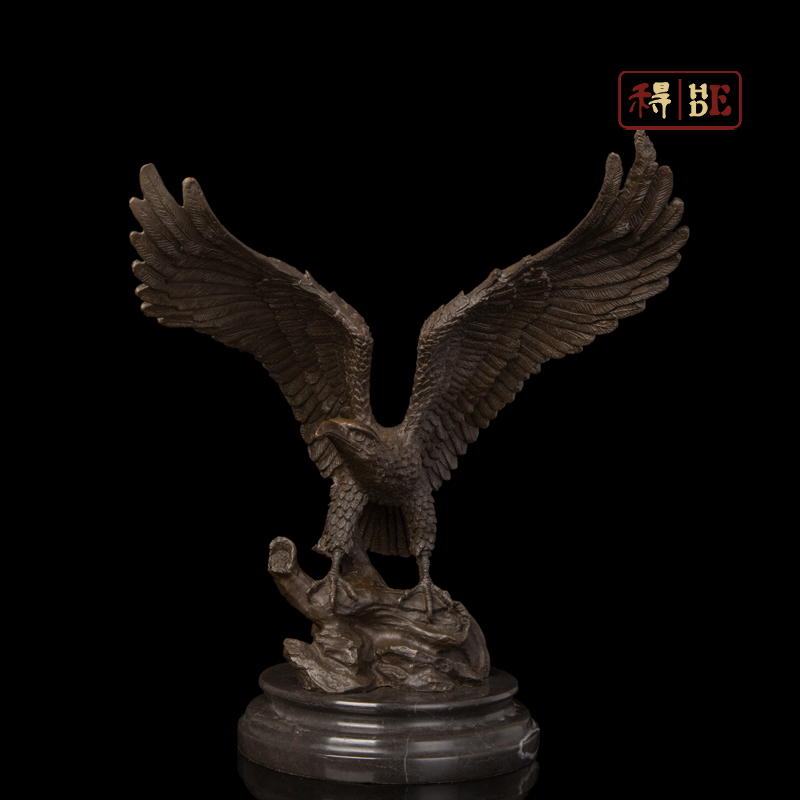 Wo have copper art Home Furnishing Office Hotel opening ceremony decoration decoration Eagle DW-205 checkout