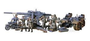 Image 5 - 1:35 모델 구축 키트 독일 88mm 건 플랙 36/37 w/9 피규어 ks750 군용 탱크 어셈블리 tamiya 35017