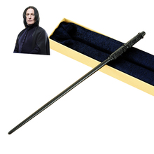 Metal Core Professor Severus Snape Magic Wand/ Potter Magical Wands/Quality Gift Box Packing for harry potter cosplay(China)