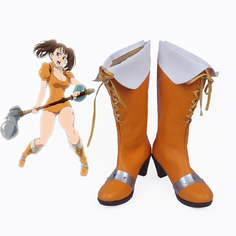 The Seven Deadly Sins Serpent's Sin Diane Cosplay Shoes