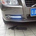 Сид drl для VOLVO S80 S80L 2009 2010 2011 2012 2013 Дневного Света ABS противотуманные фары крышка, автомобиль аксессуары укладка