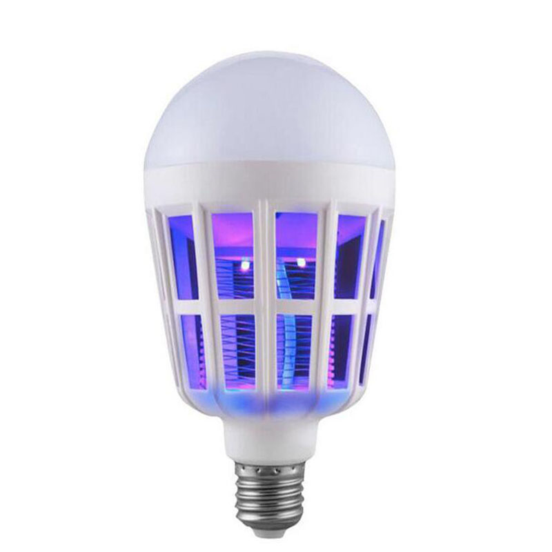 <font><b>LED</b></font> light Bulb <font><b>E27</b></font> <font><b>30W</b></font> 220V Mosquito killing lamp High brightness Power IP30 Healthy Energy saving good light image