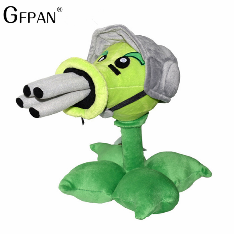 1PC 30cm  High Quality Plants Vs Zombies Pea Shooter& Sunflower &Squash Stuffed&Plush Toys Birthday Gift For Baby