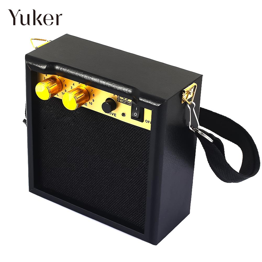 5W Mini Electric Guitar Amp Bluetooth Loudspeaker Electrical Guitarra Amplifier Speaker Acoustic Electric Guitar Accessories