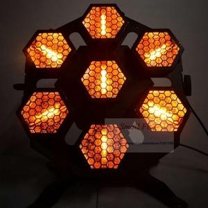 Image 4 - Led ランプ 7X100W レトロフラッシュ光輸送ライトディスコパーティープロの舞台効果光 dj 機器