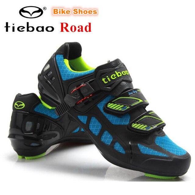 Tiebao Sepatu Bersepeda Sepeda Jalan Naik Sepeda Sol Naik Sepeda Atletik  Zapatillas Deportivas Mujer Sapatilha Ciclismo 5d6fcb3fa4