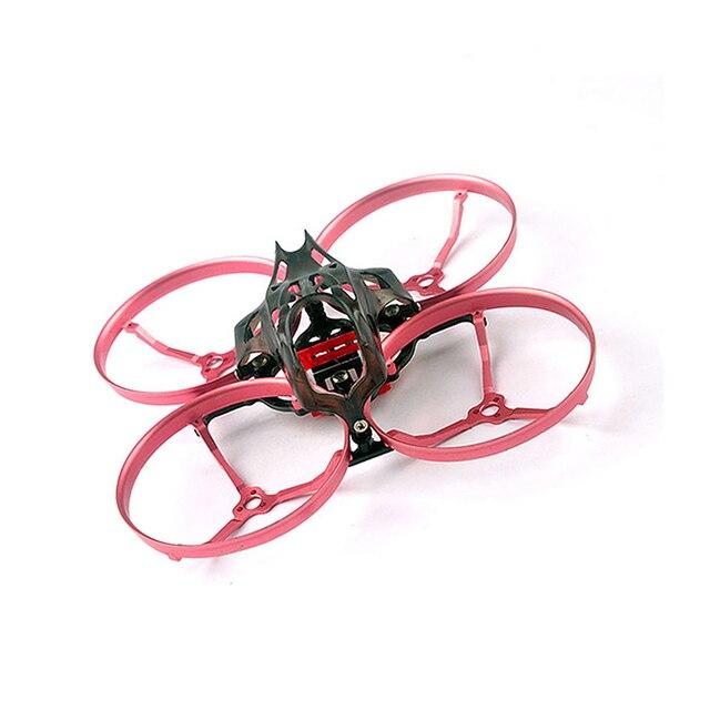 Happymodel Snapper8 85 millimetri Cinewhoop Kit Telaio In Fibra di Carbonio Con Lega di Alluminio CNC Guard per FPV Da Corsa del RC Aereo Drone quad
