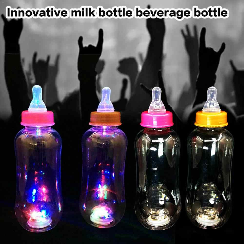 Glow In The Dark Luminous Milk Bottle Party DIY Bright Paint Star Wishing Bottle Fluorescent Particles Juice Bottle