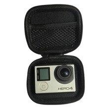 Portable Mini Box Xiaoyi Bag Black Camera Case For Xiaomi Yi 4K 1080p Gopro Hero 5 4 Session 3 SJCAM Sj4000 m1 Yi Accessories