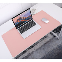 SILVER LINK Faux Leather Mouse Pad Full Size 80CMx40CM/31.5In x15.8in UP Gaming Mousepad Gamer Accessories Multicolor M Size