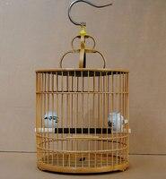 Бамбук птица клетки главная сад украшения подарок птиц и сад товары для домашних животных