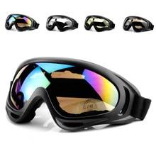 Зимние лыжные очки снежные виды спорта сноуборд Анти-туман снегоход ветрозащитные пылезащитные очки UV400 скейт лыжные Солнцезащитные очки