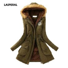 IOQRCJV 2018 Jacket Women Hooded Outwear Parka Thick Cotton Padded Lining Winter