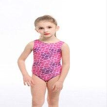 Милые дети, девушки, Одна деталь Плавание костюм слитные купальники детская одежда в клетку для маленьких девочек; Длинная одежда Плавание пляжная одежда, купальник Плавание ming тренировочные ванный комплект
