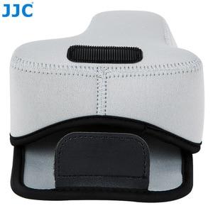 Image 3 - Jjc 미러리스 카메라 파우치 소프트 dslr 케이스 가방 소니 a6600 a6100 a6300 a6400 a6500 후지 필름 xt30 xt20 xt10 + 55 210mm 렌즈