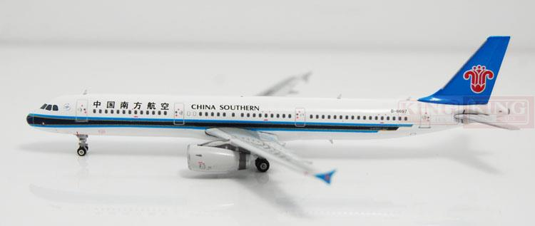 Phoenix 10863 China Southern Airlines B-6657 1:400 A321 commercial jetliners plane model hobby