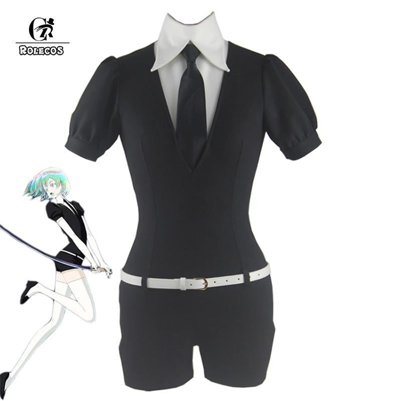 ROLECOS Land of the Lustrous Phosphophyllite Cinnabar Diamond Bort Morganite jumpsuits Suits Coat Jacket Uniform Cosplay Costume напольная плитка caesar change chromium ret 30x60