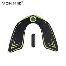 VONMIE EMS бедра тренер электрический стимулятор мышц ABS фитнес ягодицы для похудения десятков машинный с дистанционным управлением USB перезаряжаемые