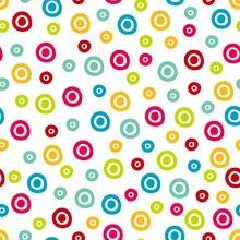 Huayi colorido bolinhas cenário arte tecido fotografia prop foto fundo do estúdio recém-nascidos d-9840