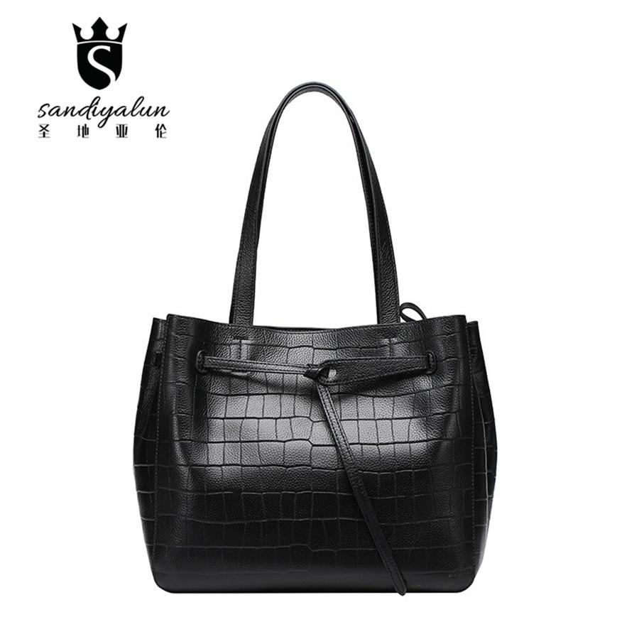 2017 Women Bag Band Designer Handbags Stone Pattern Luxury Quality Lady Shoulder Crossbody Bags Women Messenger Bag
