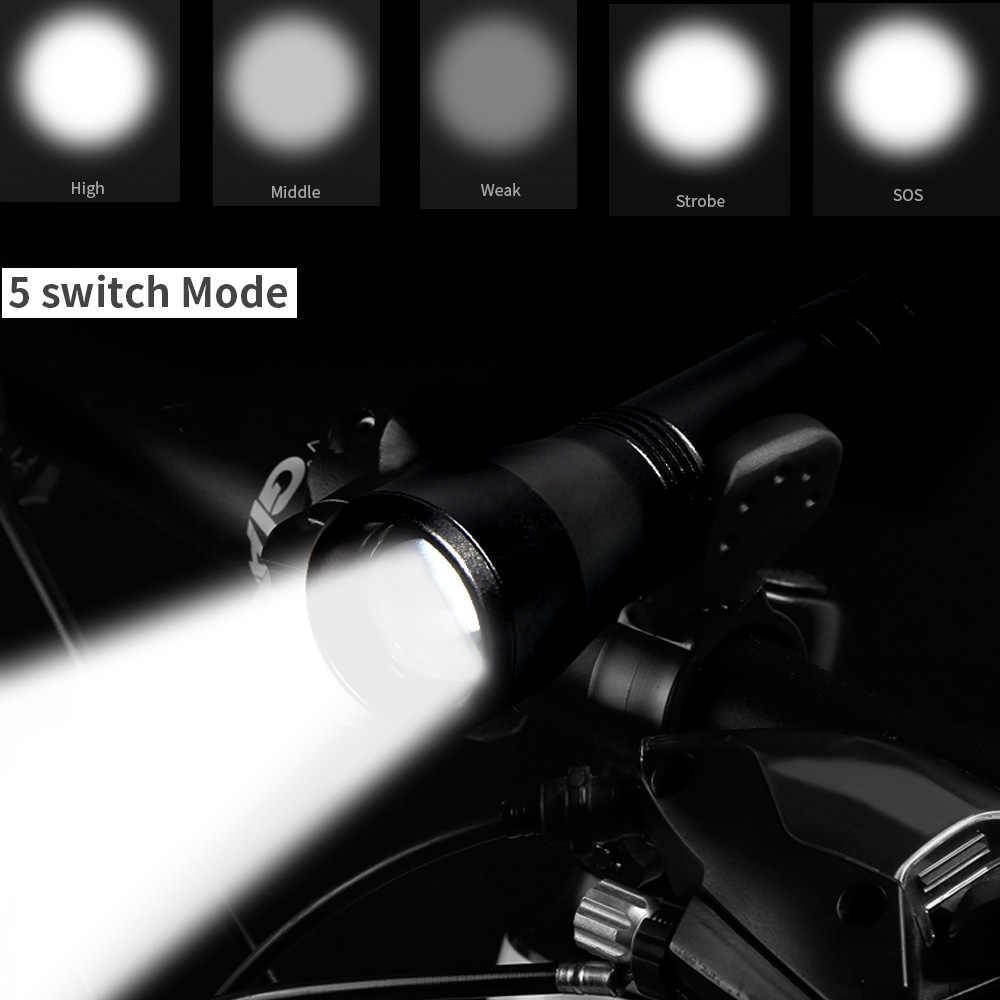 LED UV פנס UV אור L2/T6 לבן אור LED לפיד אור 5 מצב Zoomable 395nm Blacklight על ידי 18650 סוללה קמפינג
