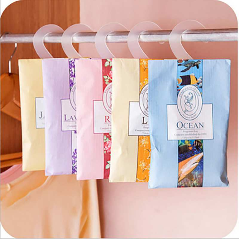 Hang Natural Sachets Scented Bags for Closets Wardrobe Anti-mildew Dehumidification  Removing Odor Home Fragrance