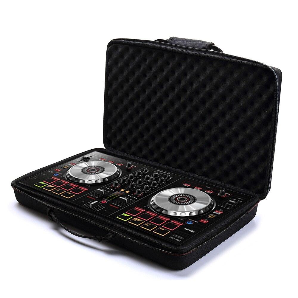 Coque EVA pour Pioneer DJ DDJ-SB3/DDJ-SB2/DDJ-400 ou contrôleur 2 canaux Portable ou contrôleur DJ DDJ-RB Performance-noir