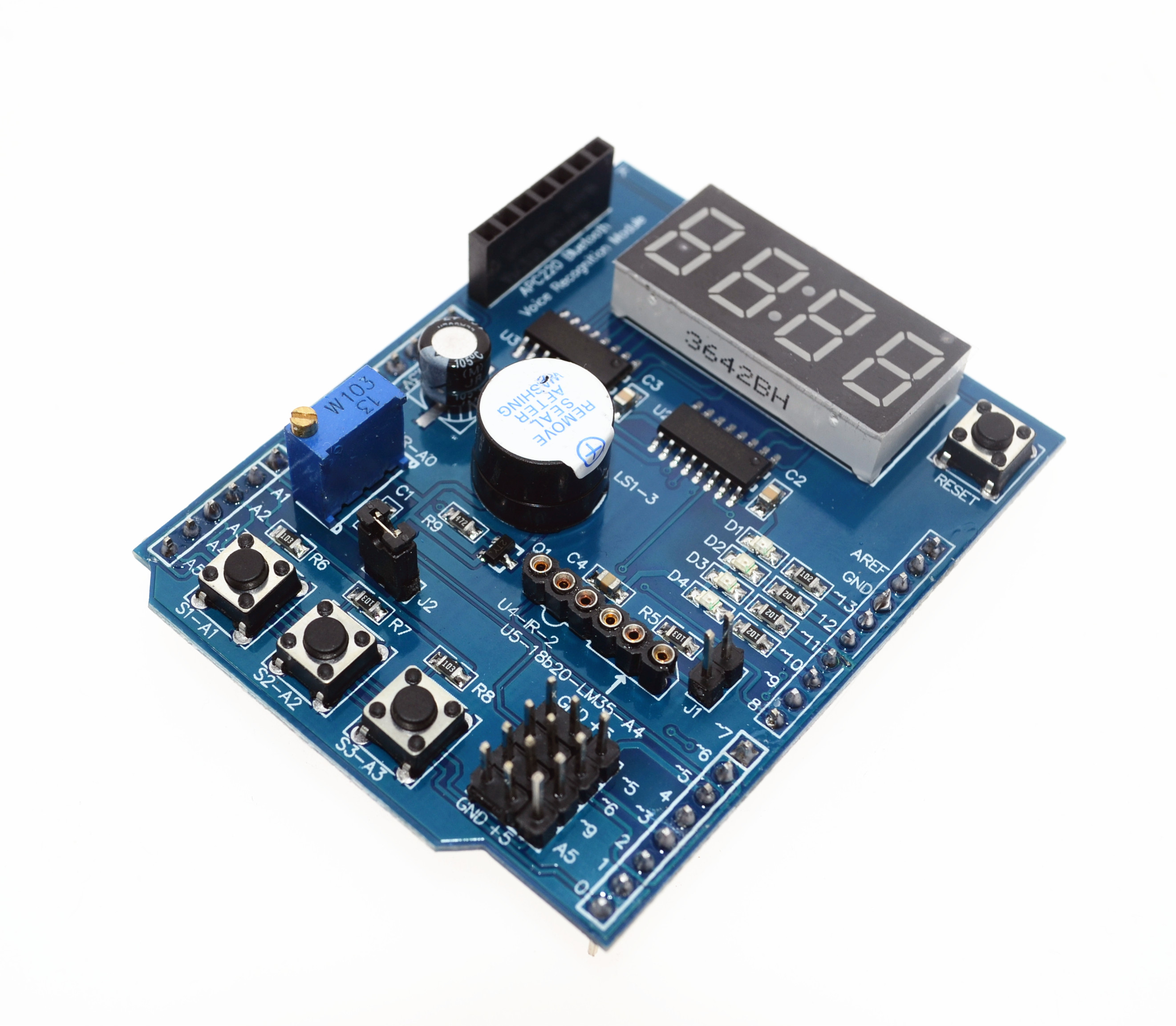 1pcs for Arduino Multifunctional Multi functional Expansion Development Board Base Learning UNO LENARDO Mega 2560 Shield