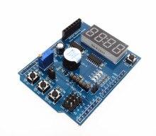 1 шт. для Arduino Многофункциональный многофункциональный Расширение Совет По Развитию Базы Обучение ООН LENARDO Мега 2560 Щит DIY Kit