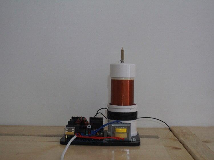Livraison gratuite bobine tesla (générateur) bricolage bobine Tesla avec SSTC carte d'entraînement instruments de laboratoire outils d'expérimentation électrique