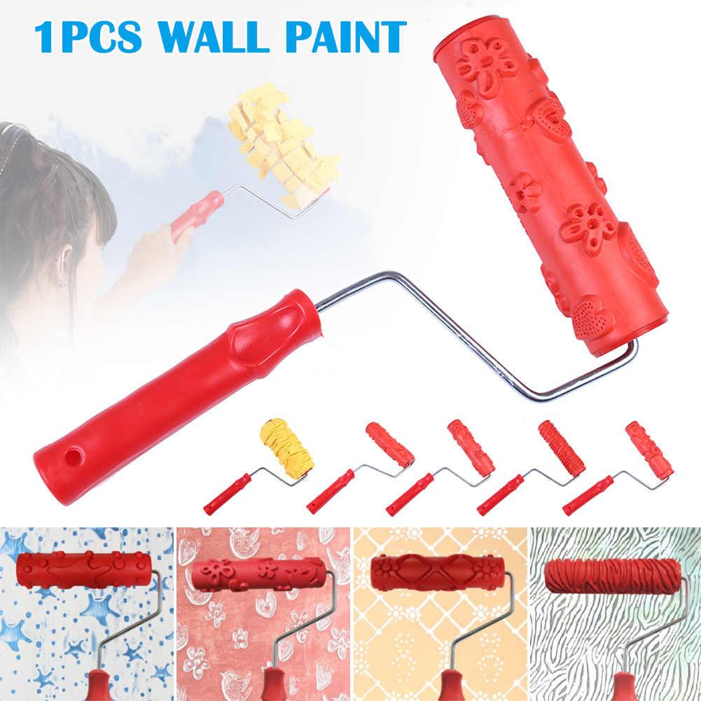 Ролик для обойных швов стены текстуры печати инструмент липкий цветок кисти стены печати инструмент LKS99
