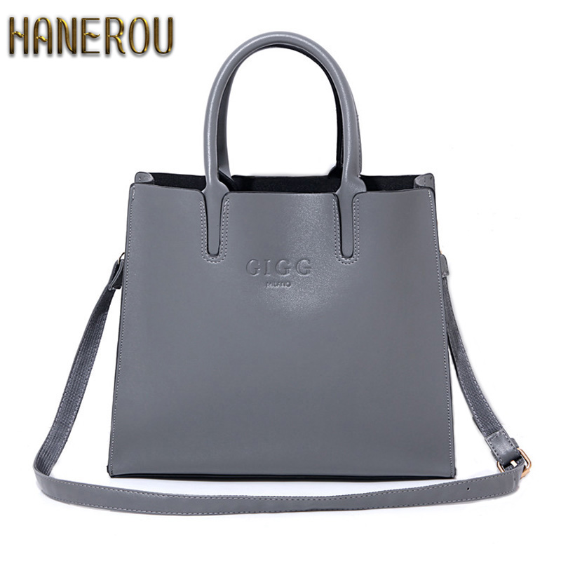 Autumn Fashion Women Bag Luxury Brand 2017 PU Leather Shoulder Bags Large Ladies Bags Brands Designer Handbags High Quality Sacs