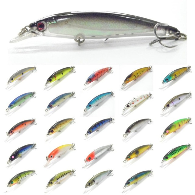 wLure Fishing Lure Minnow Crankbait Hard Bait Epoxy Coating Jerkbait Weight Transfer System Over 20 Colors 1/2oz 11cm M600