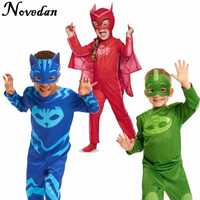 PJ Masks Cosplay Costume Birthday Party Dress Set PJ Masks Costumes For Kids Party Carnival Costumes