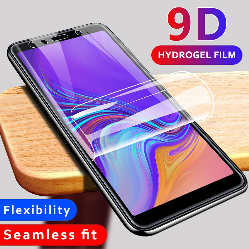 For <font><b>Samsung</b></font> J6 Plus Screen Protector 9D Hydrogel Soft Film For <font><b>Samsung</b></font> <font><b>Galaxy</b></font> <font><b>J4</b></font> J6 Plus <font><b>2018</b></font> Full Protective Film Not <font><b>Glass</b></font> image