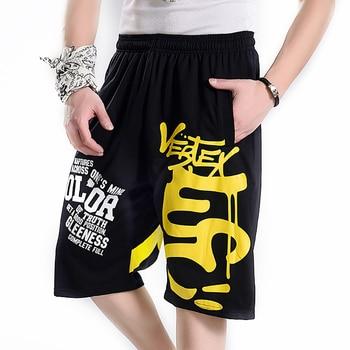 f2a9cf1273836 Largo pantalones cortos de verano de los hombres de Hip Hop para Hombre  Pantalones cortos Gasp Bermudas Masculina culturismo Mens Fitness ropa  deportiva ...