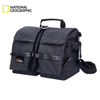 National Geographic NG W2140 profesjonalna torba na aparat dslr uniwersalna torba z osłoną przeciwdeszczową tanie i dobre opinie Teczki Płótno zipper Stałe Unisex Na co dzień Poliester Pojedyncze Solidna torba Miękki uchwyt Wnętrza przedziału