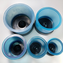 5pcs Dental Lab Materials Silicone Investment Rings with Different 5 Sizes